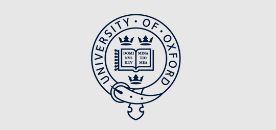 Logo for Oxford University
