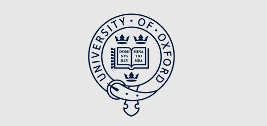 Logo for Oxford University