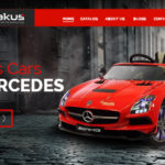 Kid cars website design