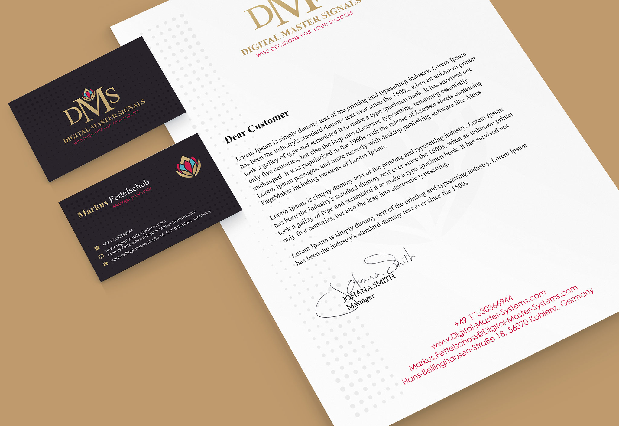business card letterhead envelope template