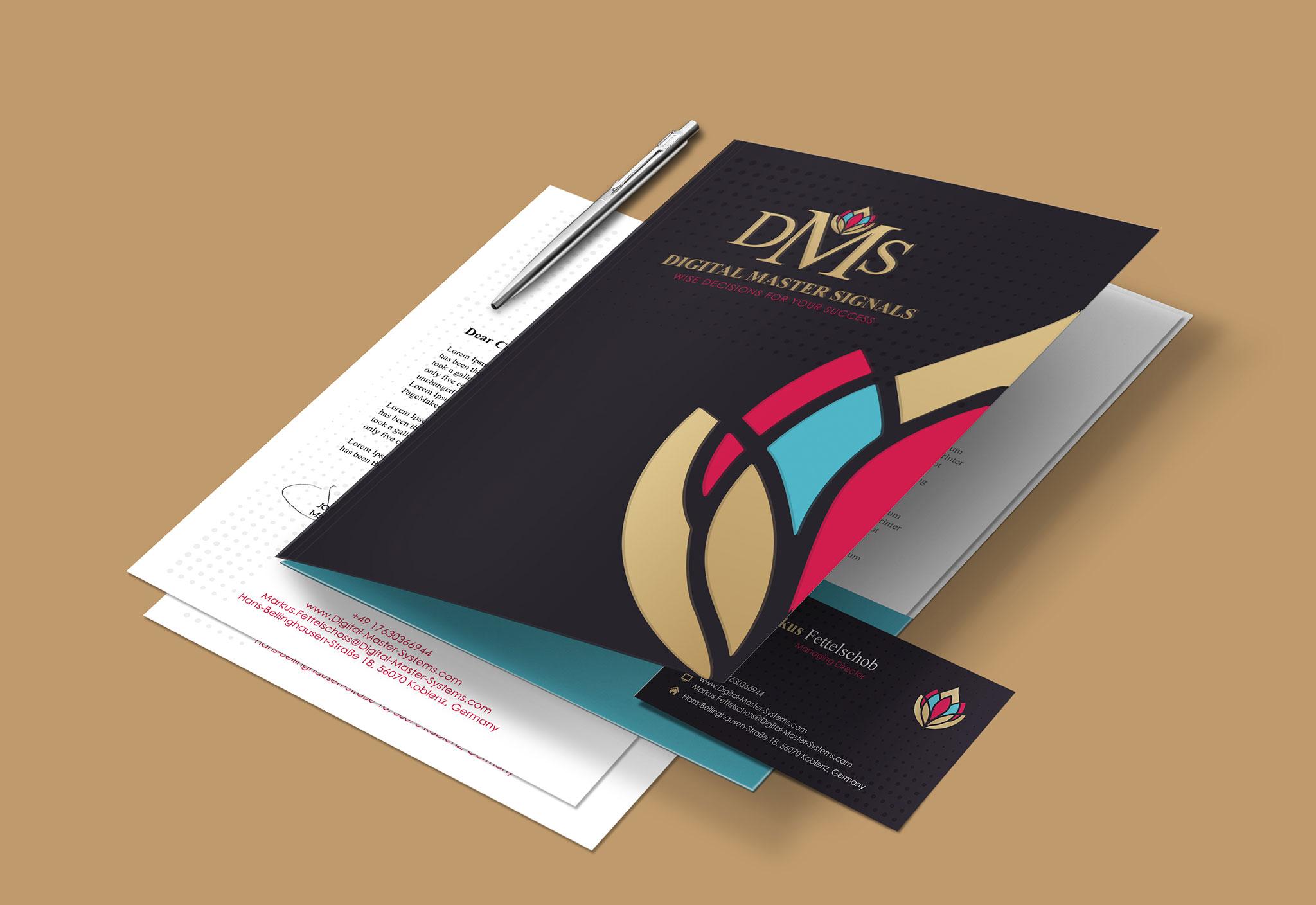 custom folder design