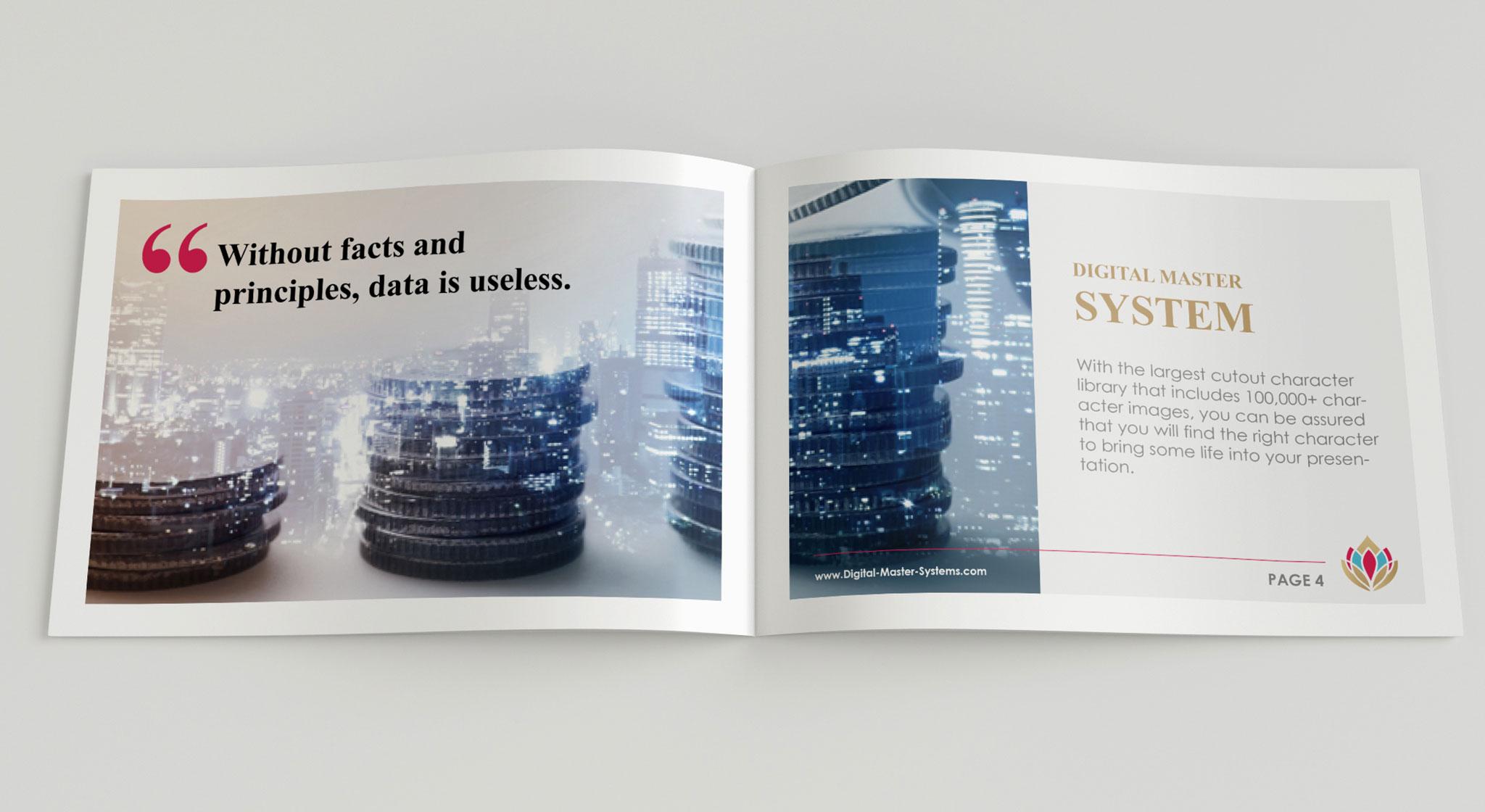 investment brochure design