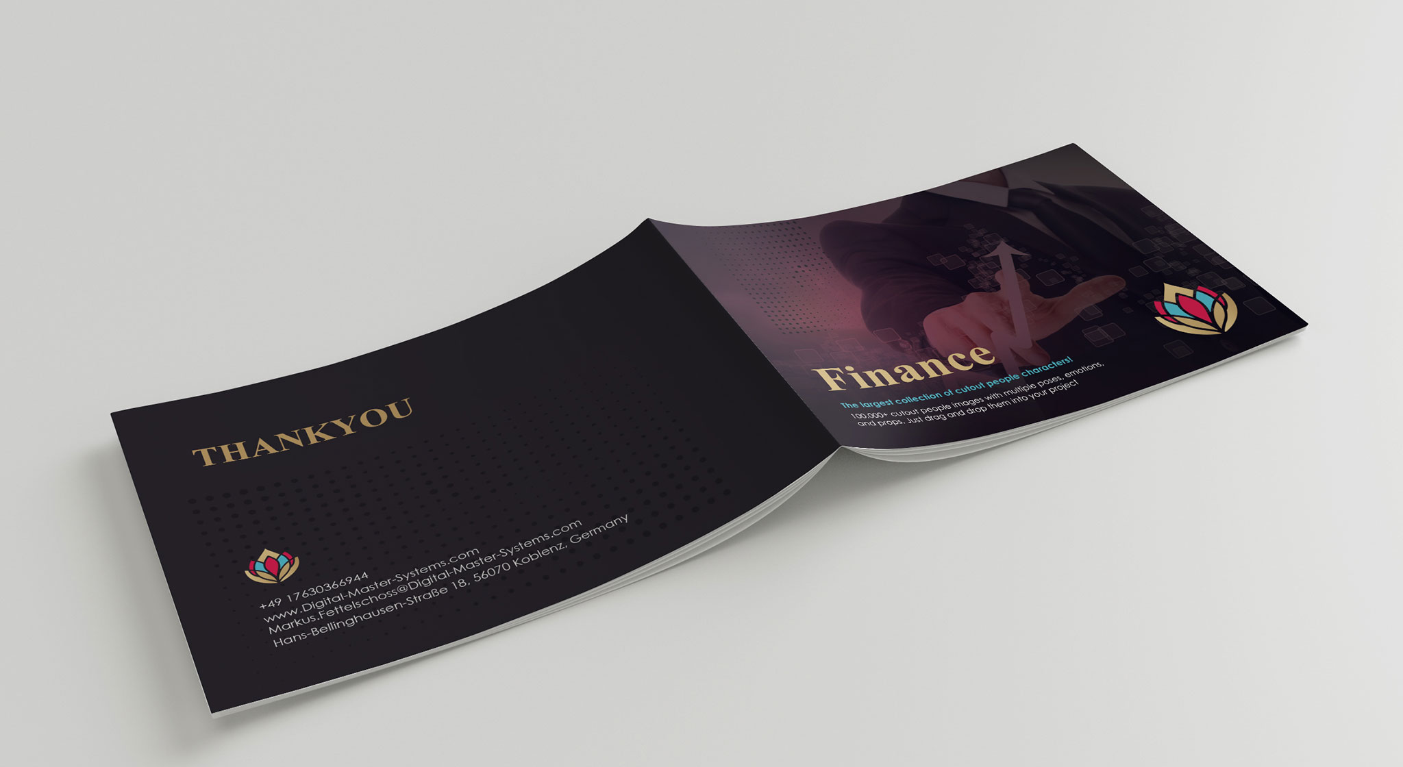 investment brochure template