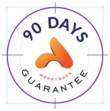 90 days money back