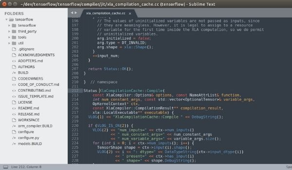 Sublime Text Editor